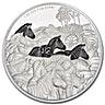 Niue 2016 Silver Great Migrations - Zebra - 1 oz