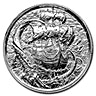 The Kraken Silver Round - 2 oz