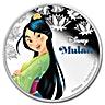 Niue 2016 Silver Disney Princess Mulan - 1 oz