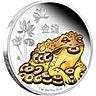 Niue 2016 Feng Shui Money Silver Toad - 1 oz