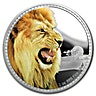 Niue 2016 Silver Kings of the Continent - African Lion - 1 oz