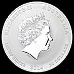 Australian Silver Lunar Series 2014 - Year of the Horse - 1 kg thumbnail
