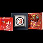 Tuvalu Silver Chinese New Year 2020 - 1 oz thumbnail