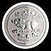 Australian Silver Lunar Series 2019 - Year of the Pig - 5 oz thumbnail