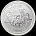 Australian Silver Lunar Series 2015 - Year of the Sheep - 1 oz thumbnail