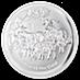 Australian Silver Lunar Series 2015 - Year of the Sheep - 5 oz thumbnail