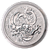 Australian Silver Chinese Myths and Legends 2021 - Dragon - 1 oz thumbnail