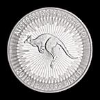 Australian Silver Kangaroo 2019 - 1 oz thumbnail