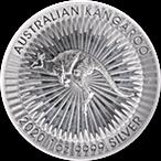 Australian Silver Kangaroo 2020 - 1 oz thumbnail