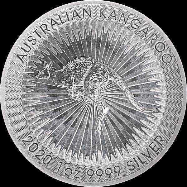 Australian Silver Kangaroo 2020 - 1 oz