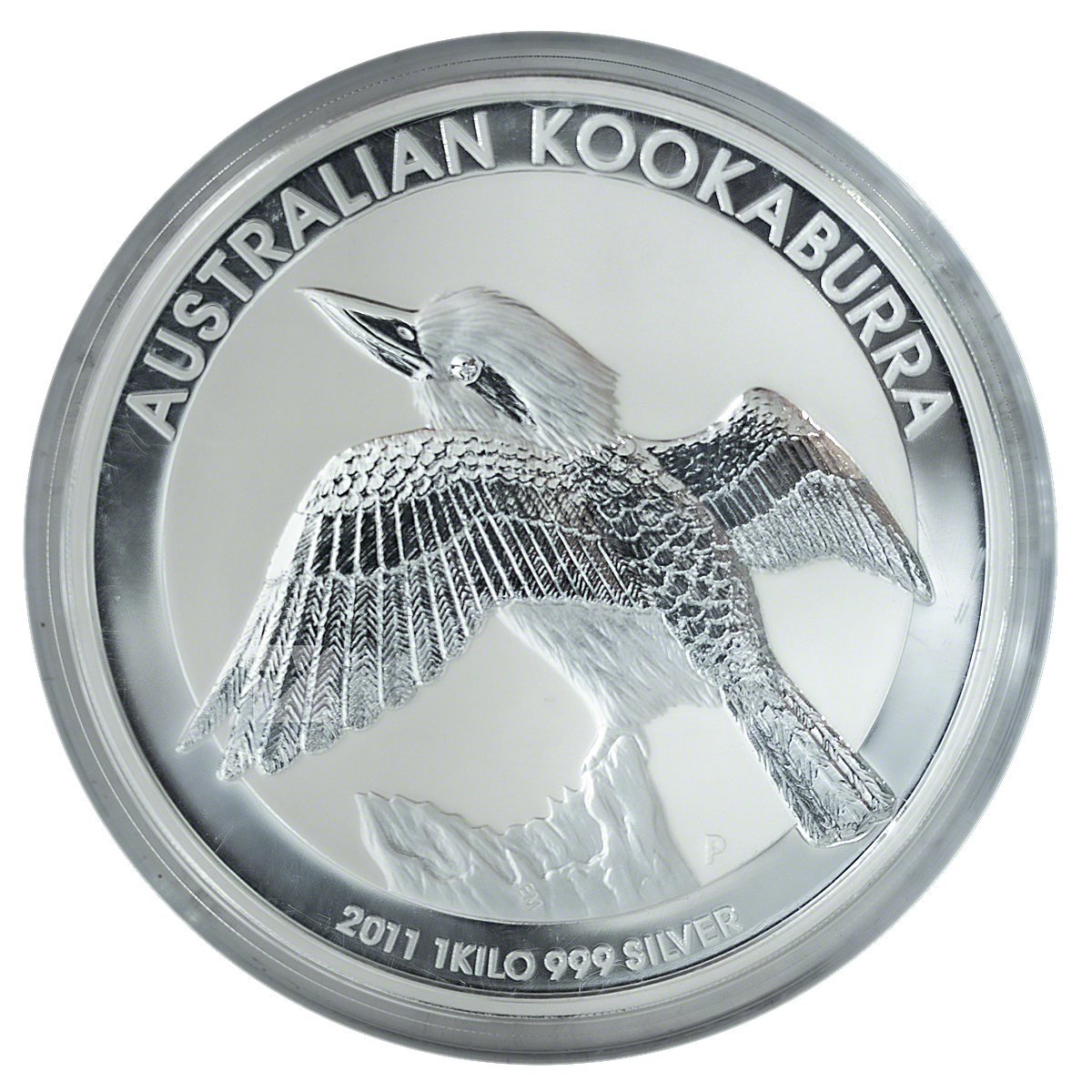 Australian Silver Kookaburra 2011