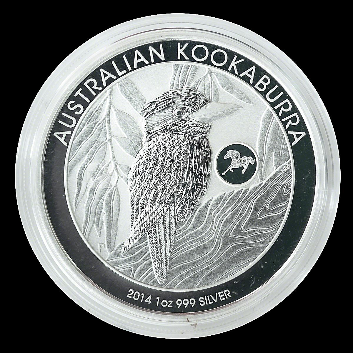 Australian Silver Kookaburra 2014