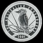 Australian Silver Kookaburra 2009 - 1 oz  thumbnail