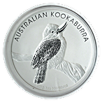 Australian Silver Kookaburra 2010 - 1 oz  thumbnail