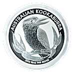 Australian Silver Kookaburra 2012 - 10 oz  thumbnail