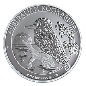 Australian Silver Kookaburra 2019 - 1 oz