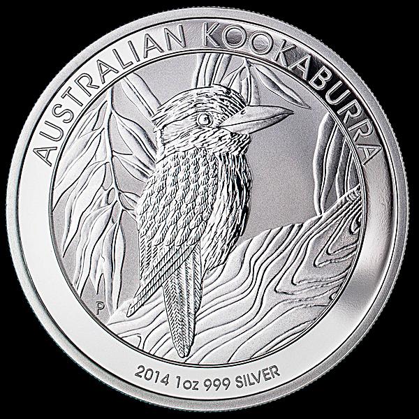 Australian Silver Kookaburra 2014 - 1 oz