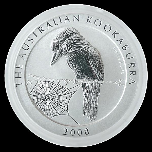 Australian Silver Kookaburra 2008 - 1 oz