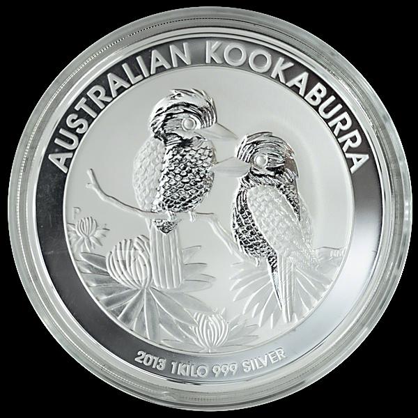 Australian Silver Kookaburra 2013 - 1 kg