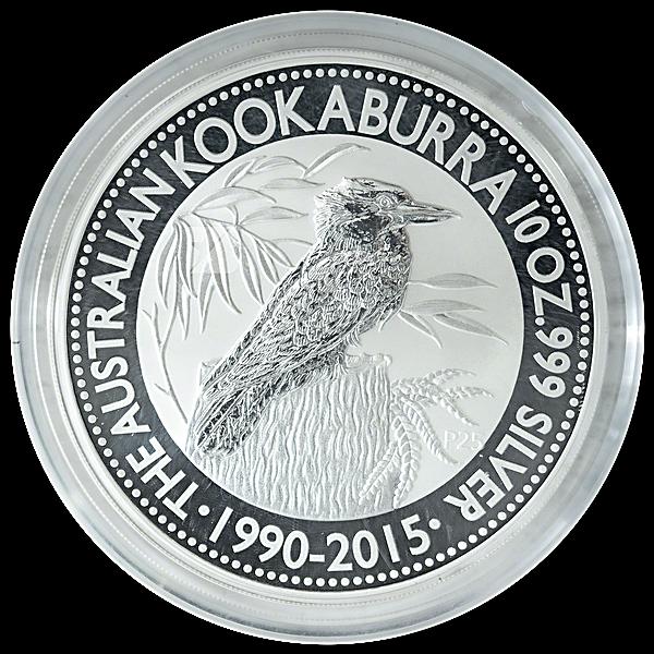 Australian Silver Kookaburra 2015 - 10 oz