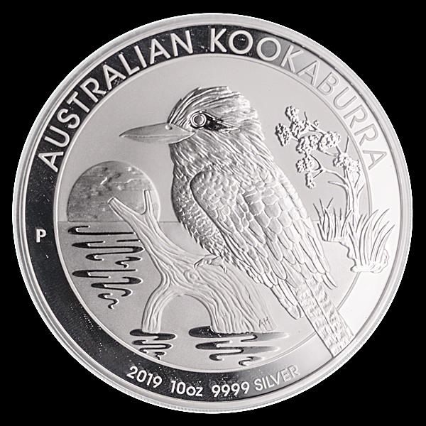 Australian Silver Kookaburra 2019 - 10 oz