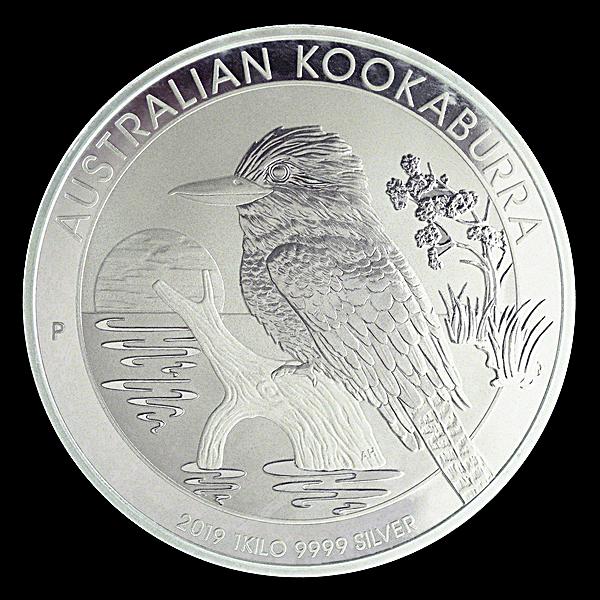 Australian Silver Kookaburra 2019 - 1 kg