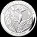 Australian Silver Kookaburra 2014 - 1 kg thumbnail