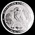 Australian Silver Kookaburra 2019 - 10 oz  thumbnail