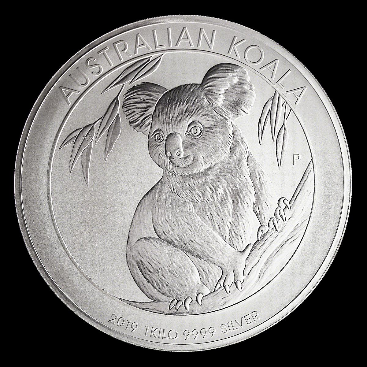 Australian Silver Koala 2019 - 1 Kg