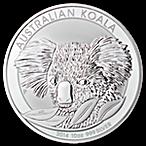 Australian Silver Koala 2014 - 10 oz  thumbnail