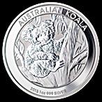 Australian Silver Koala 2013 - 1 oz thumbnail