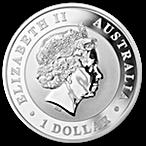 Australian Silver Koala 2014 - 1 oz thumbnail