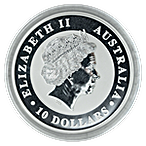 Australian Silver Koala 2013 - 10 oz thumbnail