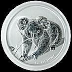 Australian Silver Koala 2010 - 1 oz thumbnail