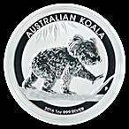 Australian Silver Koala 2016 - 1 oz thumbnail