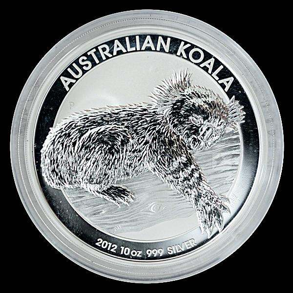 Australian Silver Koala 2012 - 10 oz