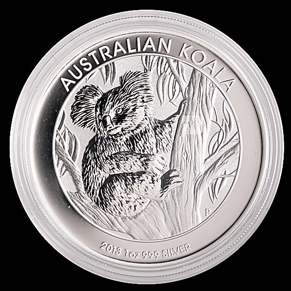 Australian Silver Koala 2013 - 1 oz