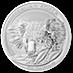 Australian Silver Koala 2014 - 1 kg thumbnail