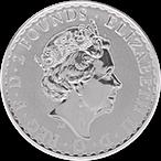 United Kingdom Silver Britannia 2020 - 1 oz  thumbnail