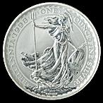 United Kingdom Silver Britannia 1998 - Circulated in Good Condition - 1 oz  thumbnail