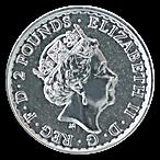United Kingdom Silver Britannia 2017 - 1 oz  thumbnail