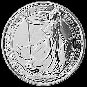 United Kingdom Silver Britannia 2014 - 1 oz