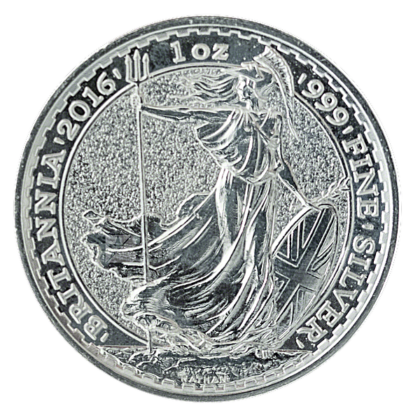 United Kingdom Silver Britannia 2016 - 1 oz
