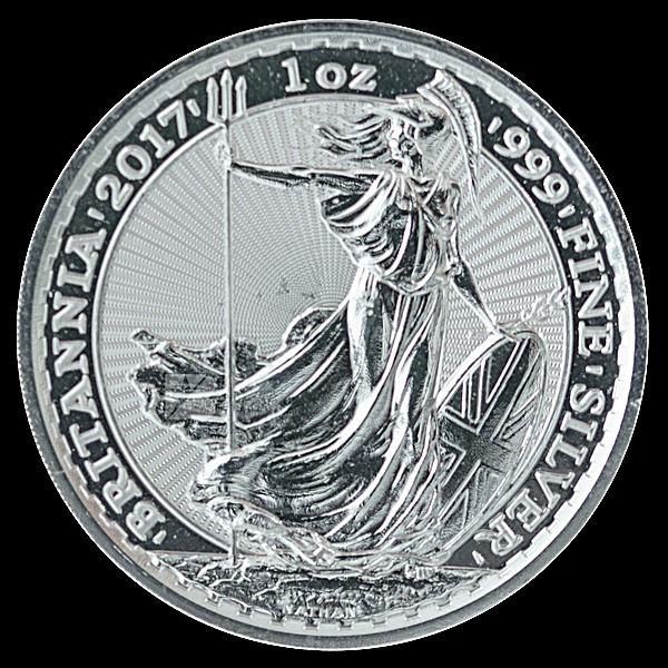 United Kingdom Silver Britannia 2017 - 1 oz