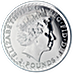 United Kingdom Silver Britannia 2013 - 1 oz  thumbnail