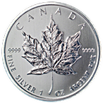 Canadian Silver Maple 2011 - 1 oz thumbnail