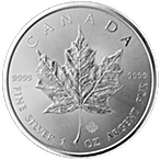 Canadian Silver Maple 2014 - 1 oz thumbnail