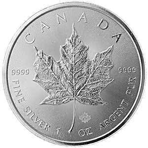 Canadian Silver Maple 2014 - 1 oz