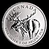 Canadian Wildlife Series 2012 - Moose - 1 oz