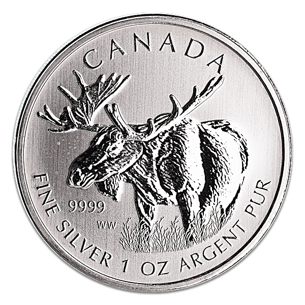 Canadian Wildlife Series 2012 - Moose - 1 oz